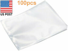 Vacuum Sealer Bags, BPA Free, Food Saver Storage Bags 8 x 12 Inch 100pcs