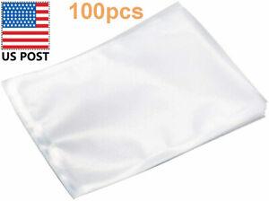 Vacuum Sealer Bags, BPA Free, Food Saver Storage Bags 8 x 12 Inch 100pcs