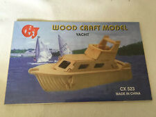 WOOD CRAFT MODEL YACHT CX523 NEW SEALED