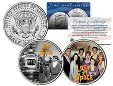 LOST IN SPACE * TV SHOW * JFK Half Dollar 2-Coin Set Will Robinson Robot Smith