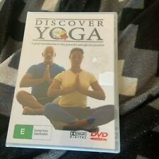 NEW, WRAPPED, DISCOVERY YOGA DVD. ALL PAY PAL