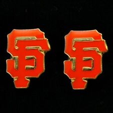 San Francisco Giants Earring Post Stud Set Jewelry Charm Pendant MLB Logo SF