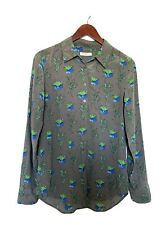 Equipment Brett Silk Shirt Size Small Women's Long Sleeve Floral Button Down