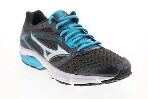 Mizuno Wave EI8 FCLR674B064 Womens Grey Mesh Athletic Cross Training Shoes 8