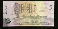 $5 FRASER/COLE  LIGHT GREEN SERIAL NUMBERS AA 94 aUNC