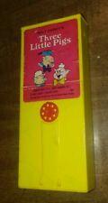 Vintage Fisher Price Movie Viewer Cartridge  Walt Disney Three Little Pigs 1973