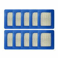10 Pack 491588S Air Filter Replace for Briggs Stratton 491588 4915885 Flat X8O2