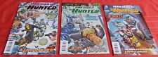 THRESHOLD PRESENTS THE HUNTED COMPLETE RUN #1-3  THE NEW 52  DC  2013 NICE!!!
