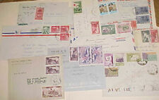 VIETNAM  SOUTH 10 SMALL COVER TO USA also US TO VIETNAM