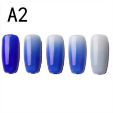 6ML Thermal Nail Polish Peel Off Temperature Color Changing Varnish Manicure JO