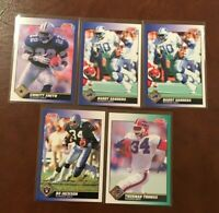 Lot 1991 Score Football Lot (38) Barry Sanders, Bo Jackson, Emmitt Smith, & more