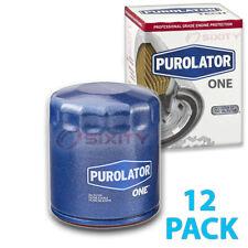 12 Pack Purolator ONE PL10241 Engine Oil Filter - 12x Long Life tv