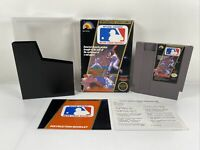 Major League Baseball (Nintendo Entertainment System, 1988) Complete In Box VGUC