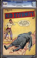 Kid Eternity #1  CGC 5.0  VG/FN  Universal CGC #0932305014