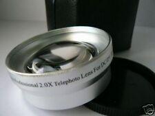 SL 49mm 2.0X Tele-Photo Lens For Sony NEX-5R 16mm/18-55mm/55-210mm DSC-RX1