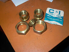 BRASS COPPER TUBE / IRON PIPE HOOK UP UNION