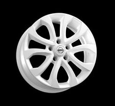 "Nissan Juke F15 Genuine Car 17"" Alloy Wheel Glossy White Aluminium KE4091K200WH"