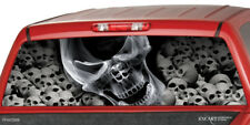 SMOCKING SKULL Rear Window Graphic Decal Tint Sticker Truck suv ute death scull