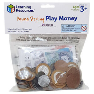 Learning Resources Play UK Money Pack