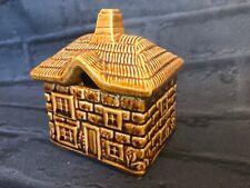 More details for devonway pottery vintage lidded pot jam sugar thatch cottage farmhouse kitchen