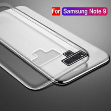 For Samsung Galaxy Note9 Note 8 S9 S8 + Clear TPU Case Silicone Shockproof Cover