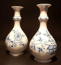 Vases en porcelaine de Meissen