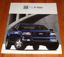 Original 2005 Ford F-150 Sales Brochure XL STX XLT FX4 Lariat King Ranch