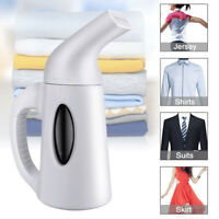 Portable Steamer Fabric Clothes Garment Steam Iron Hand Held Compact White