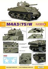 Dragon Models #75051 1/6 M4A3(75)W Sherman