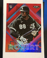2020 Topps Fire Luis Robert (White Sox) Red Foil Parallel Rookie # 155 RC MINT!