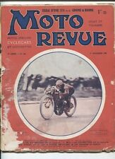 Moto Revue N°183 : 1 novembre 1925  ,Gnome et Rhone 175 cc ,Indian