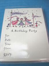 Princess Birthday Party Invitations 15 Cards & Envelopes Petite Lu*Lu