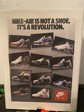 NIKE AIR 1987 VINTAGE AD - JIGSAW PUZZLE - RARE #78 OF #325