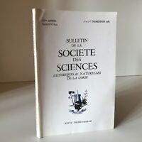 Notiziario Della Societè Delle Sciences Storici E Naturali Corse N° 644 1983