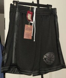 New Mitchell And Ness Golden State Warriors Blackout Throwback Shorts 93-94 S
