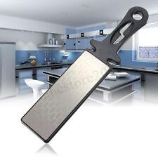 DMD 400/1000 # Double Sided Diamond Knife Sharpener Stone Whetstone  * R