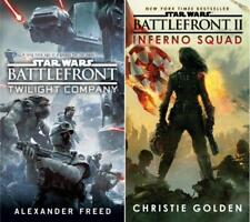 TWILIGHT COMPANY & INFERNO SQUAD Star Wars BATTLEFRONT Series Set of Books 1-2