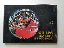 BOOK Gilles Villeneuve Formula One Auto Racing F1 Ferrari HCDJ 1983