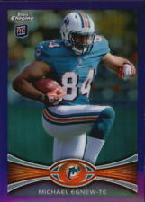 2012 Topps Chrome Football Purple Refractor Cards! HUGE List! Combined Shipping!