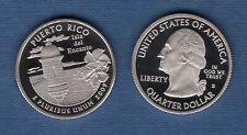Etats Unis Quarter Dollar 2009 S Puerto Rico série des Etats UNC NEUVE