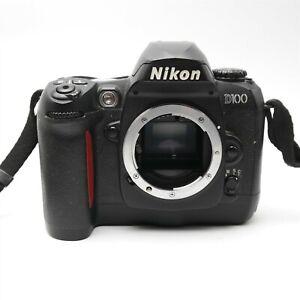 Nikon D100 Camera body only W/ Strap Works Great Nice