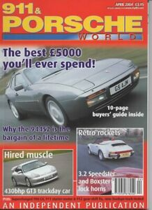 911 & Porsche World magazine number 121 April 2004 Features 944S2 buyers guide