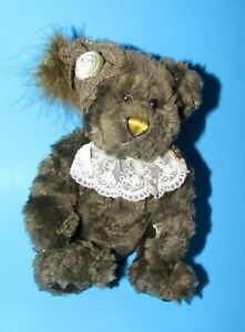 Lizbeth Power Bear of Success Pickford Bears Brass Button  Fully Jointed 9""