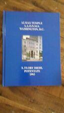 ALMAS TEMPLE A.A.O.N.M.S. - 1993 - S. FLORY DIEHL POTENTATE