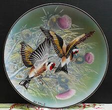 """Rosenthal Wandteller """" Distelfinken Buntschim. Anmut """" Juwelen der Vogelwelt !!!"""