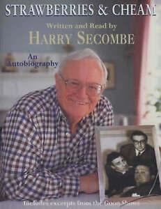 AUDIO BOOK Harry Secombe STRAWBERRIES & CHEAM - on 2 x cass BIOG