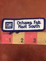 Vintage GM General Motors OSHAWA FABRICATION PLANT SOUTH Patch - Canada 85P8