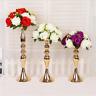 Stunning Silver Iron Luxury Flower Vase Urn Wedding XMAS Table Home Decor