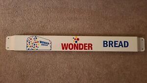 33'' Door push bar Wonder Bread Antique Advertising sign