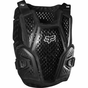Fox Racing Raceframe Roost Guard  Adult Chest Protector MX ATV Offroad Black